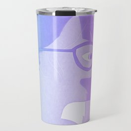 The cat inside - bicolor Travel Mug