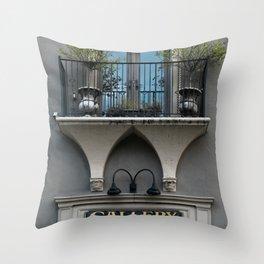 Gallery Window Throw Pillow