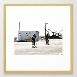 Warf Framed Art Print