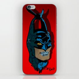 The Bat vs Khinde Wiley iPhone Skin