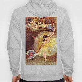 Dancer with Bouquet by Edgar Degas Hoody