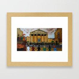 Edinburgh Seven Framed Art Print