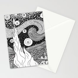 Van Gogh - Starry Night Stationery Cards