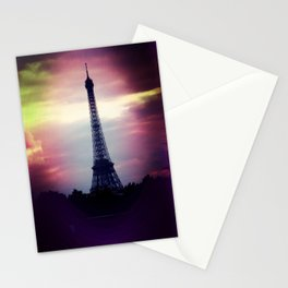 Colorful Tower Stationery Cards