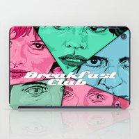 the breakfast club iPad Cases featuring Breakfast Club Colors by David Amblard