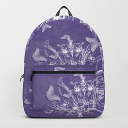 ghost bouquet and butterflies Backpack