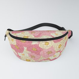 Graphic - Lady Peonies Fanny Pack