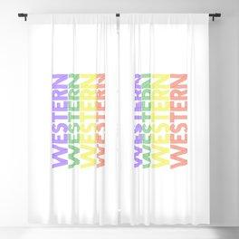 Western  TShirt Retro Music Shirt Vintage Beats Gift Idea Blackout Curtain