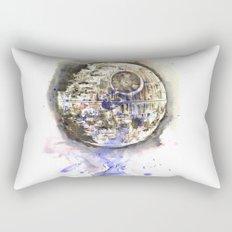 Star Wars Art Painting The Death Star Rectangular Pillow