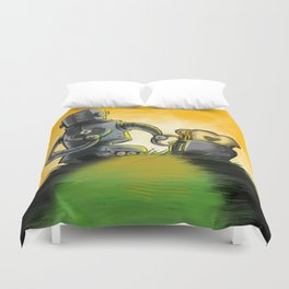 Love is Toast Duvet Cover