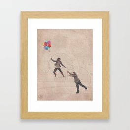 What are you drawing Ryan? // 161 Framed Art Print