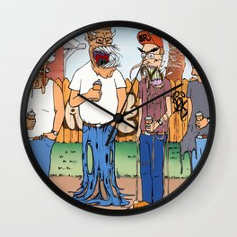 King Of The Hell Wall Clock