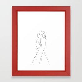 Never Let Me Go II Framed Art Print