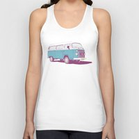 vw Tank Tops featuring VW Combi v.02 by CranioDsgn