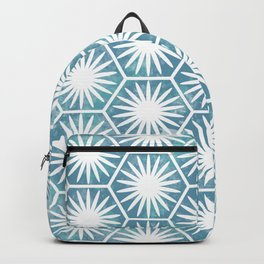 Watercolor daisy Backpack
