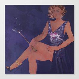 Magical Glamour Canvas Print