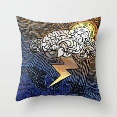 S.a.d. Throw Pillow
