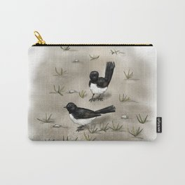 Willie Wagtails Carry-All Pouch