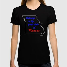 Welcome to Kansas (Missouri) T-shirt