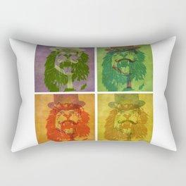 Lion Tamer Rectangular Pillow