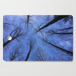 Winter Trees Cutting Board