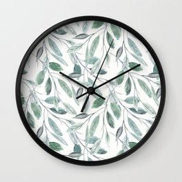 Unity with nature. Wall Clock