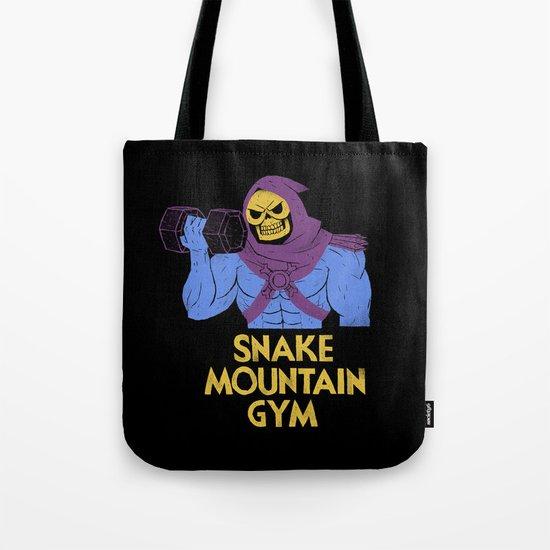 snake mountain gym Tote Bag