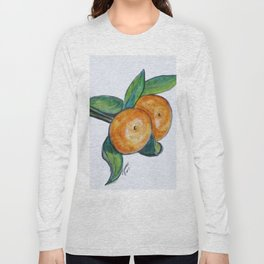 Two Oranges Long Sleeve T-shirt