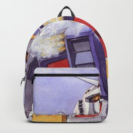 Gundam Rx-78-2 watercolor (large ver.) Backpack