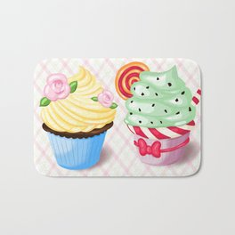 Pretty Cupcake Parade Bath Mat