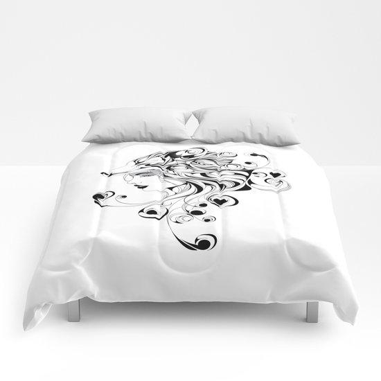 Fox Girl Comforters