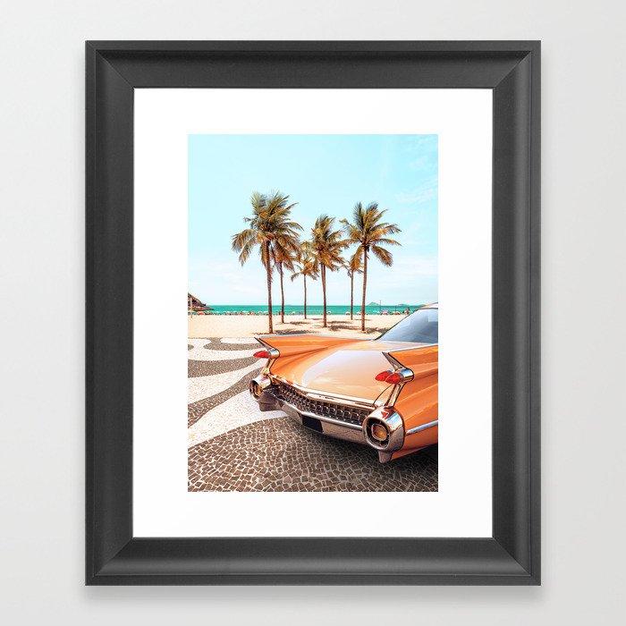 Copacabana Gerahmter Kunstdruck
