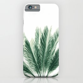 Summer Palm Vibes #1 #tropical #decor #art #society6 iPhone Case
