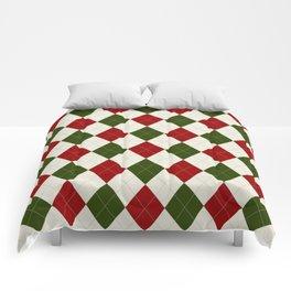 Christmas Argyle Pattern Comforters