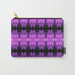Purple Black Diamond Gothic Pattern Carry-All Pouch