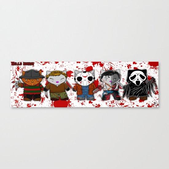 Hello Horror 2103 Canvas Print