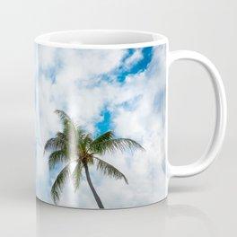 The Sky and a Coconut Tree Coffee Mug