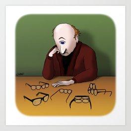 Cyclops Dilemma Art Print