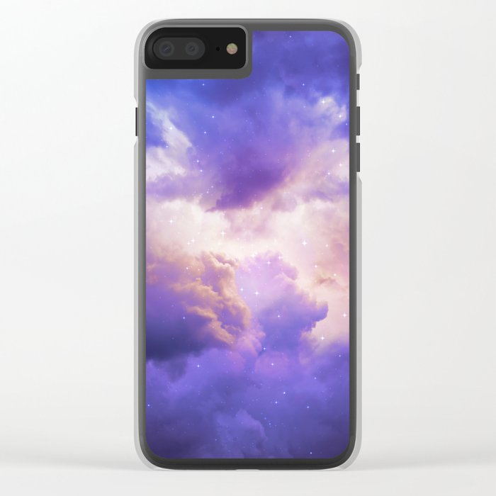 The Skies Are Painted III Clear iPhone Case