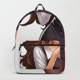 Hot Poker Girl Who Play Professional Poker Backpack