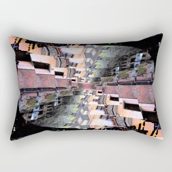 Torsion Rectangular Pillow