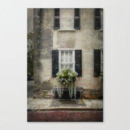 South of Broad - Window Box Canvas Print