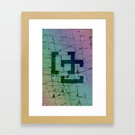 Rock Rainbow Framed Art Print