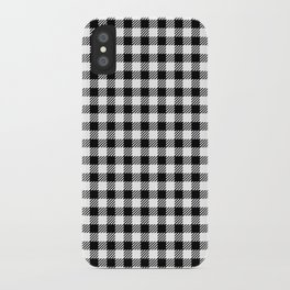vichy gingham pattern iPhone Case