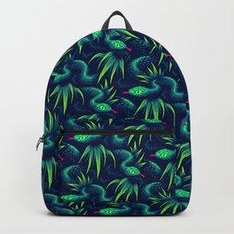 Mr Snake in the Rainforest - Green Backpack