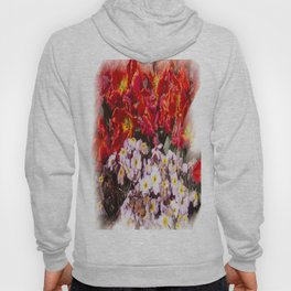 Flowers in town Hoody