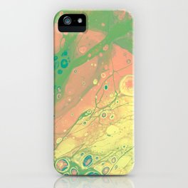 peaceful bliss iPhone Case