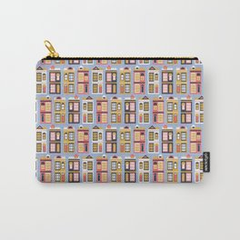 San Francisco Painted Ladies Carry-All Pouch
