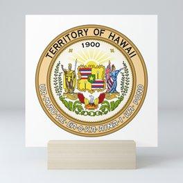 Seal of Territory of Hawaii, 1900-1959 Mini Art Print