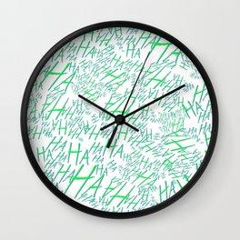 Hahahaaa Wall Clock